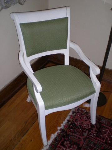 Painted Arm Chair, Set of Four