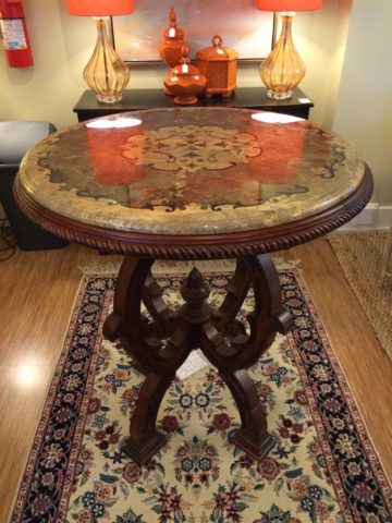 Ambella Home Marble Top Entrance Table