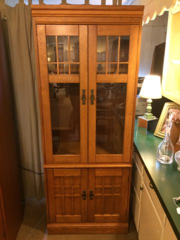 Hooker Mission Style Bookcase Cabinet