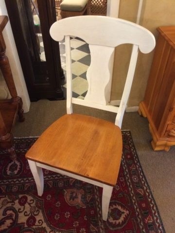 Israel's White Painted Chair