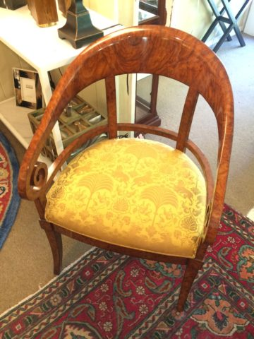 Charles Pollock Neoclassical Arm Chair