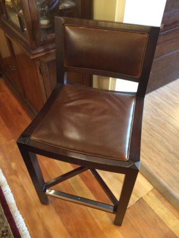 Lee Leather Counter Stool
