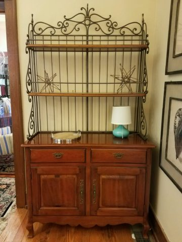 Hickory Chair Sideboard with Hutch