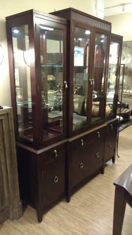 Ethan Allen Avenue China Cabinet