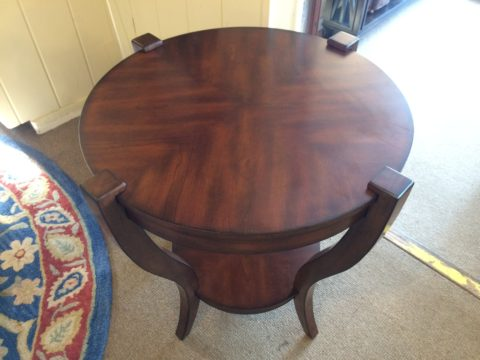 Inlaid Cherry Side Table