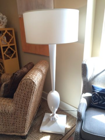Christopher Guy Lac Swan Lamp