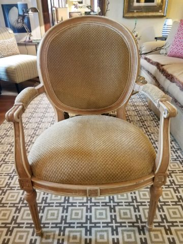 William Switzer French Arm Chair
