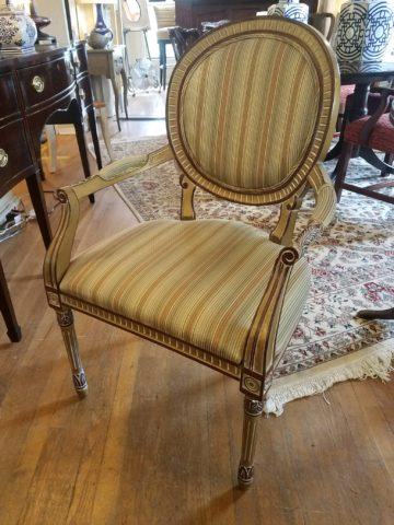 Astoria Imports French Arm Chair