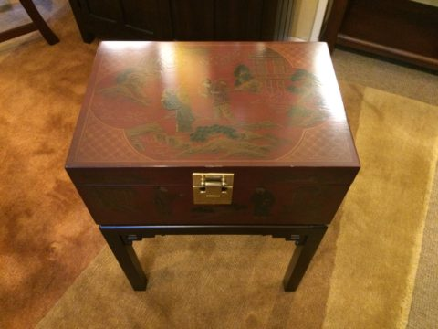 Drexel Asian Box on Stand